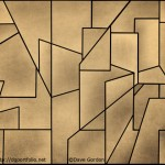 Geometric Abstraction II Toned - abstract image