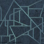 Geometric Abstraction in Blue