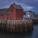 Fine Art color photograph of Rockport, MA by Dave Gordon