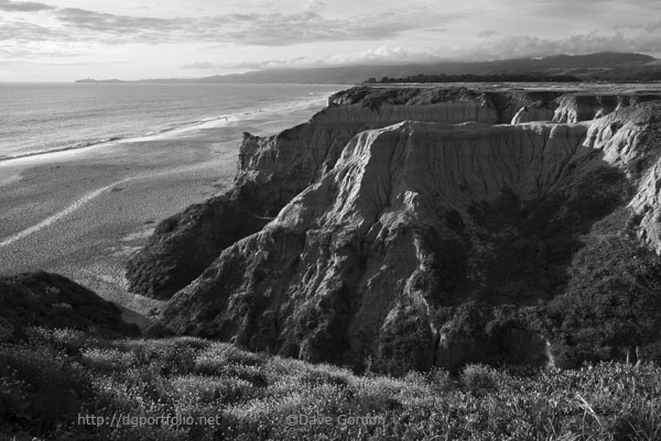 Half Moon Bay II BW