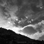 Fine art black and white cloudscape images by Dave Gordon.