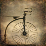 Fine Art photograph of an antique bicycle by Dave Gordon