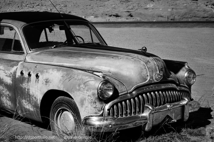 11949 Buick Eight BW image