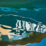 Abstract Boat Reflection image