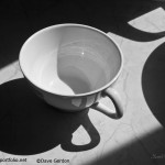 Coffee Cup BW